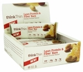 Think Products thinkThin Bar - Ln Protein Fbr - Hny Pnt - 1.41 oz - 1 Case
