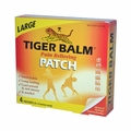 Tiger Balm Pain Relieving Large Patches - Case of 6 - 4 Pack
