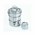 To-Go Ware 3 Tier Stainless Steel Lunchbox