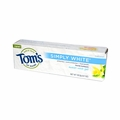Tom's of Maine Simply White Toothpaste Sweet Mint Gel - 4.7 oz - Case of 6