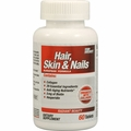 Top Secret Nutrition Hair Skin and Nails - 60 Tablets