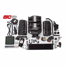 2005-09 Mustang GT Edelbrock E-Force 466 HP Stage 1 Complete Street Supercharger Kit with Tuner