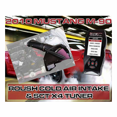 2010 Mustang GT Roush M-90 Cold Air Intake and Brenspeed Calibration Package