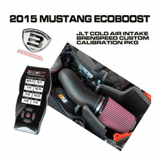2015 Mustang Eco Boost JLT Plastic Cold Air Intake Custom Tuner Package