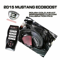 2015 Mustang EcoBoost Roush Cold Air Intake Custom Tuner Package