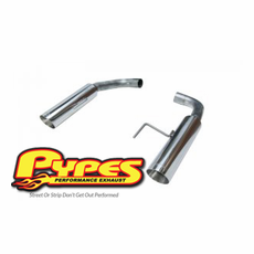 2015-16 Mustang GT Pypes Bomb Axle Back Exhaust System SFM81MS