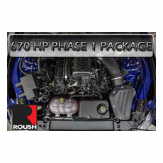 2015-16 Mustang GT Roush 670HP Supercharger Package 421823