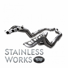 "2015 Mustang GT Stainless Power Header: 1-7/8"" Catted Performance Connect SM15H3CAT"