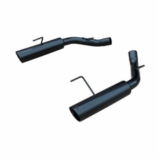 BLACK PYPE BOMB Axleback Exhaust Mustang GT Pypes (05-10)