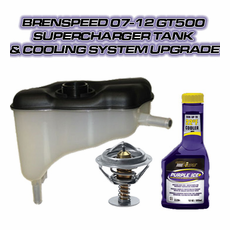 Brenspeed 07-12 GT500 Supercharger Tank & Cooling System Upgrade