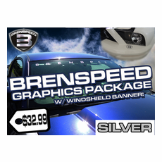 Brenspeed Graphics Package w/ Windshield Banner BM1005