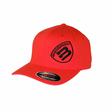 Brenspeed Shield Flex Fit RED Baseball Cap
