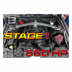 Brenspeed Stage 1 560 HP E-Force Supercharger Package 05-2010 Mustang
