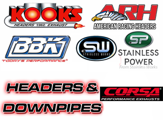 Headers and Downpipes