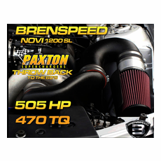"Mustang GT Paxton NOVI 1200SL  Supercharger ""Throwback"" Brenspeed Package (05-10)"