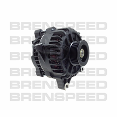 PA Performance Flat Black 130 AMP Alternator 05-08 Mustang GT 3V