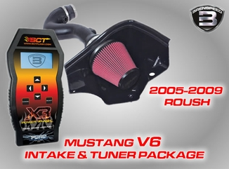V6 Air Intake & Tuner Packages