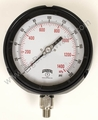 "1/4"" NPT Premium Process 4 1/2""  Gauge 0-200 PSI"
