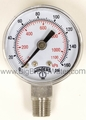 "1/8"" NPT Stainless Steel 0-160 PSI 1.5"" Regulator Gauge"
