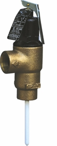 "3/4"" FV-1LS Male Inlet Commercial Temp. and Pressure Relief Valve"