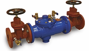"6"" RPZ Reduced Pressure Zone Backflow Preventer"
