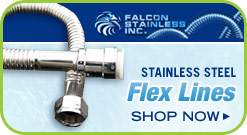 Stainless Steel Flex Lines