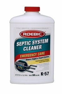Roebic K-57 Septic System Cleaner 1 Quart