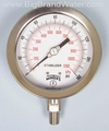 "Stainless Steel 4"" Premium Gauge 0-160 PSI 1/4"" Thread"