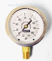 """Stainless Steel Liquid Filled Quality Gauge 2.5"""" 0-160 PSI"""