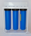 Triple Big Blue Free-Standing Filter System (w/out filters)