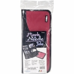 Art Bin Hook & Needle Storage Case Raspberry/Black