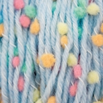 Bernat Dippity Dots Yarn - Blue (Clearance)