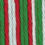 Bernat Handicrafter Cotton Yarn Ombres & Prints - Mistletoe