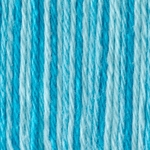 Bernat Handicrafter Cotton Yarn Ombres & Prints - Swimming Pool