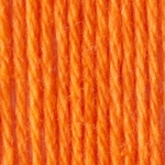 Bernat Handicrafter Cotton Yarn Solids - Hot Orange