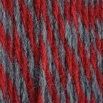 Bernat Super Value Team Colors Yarn - Garnet & Grey