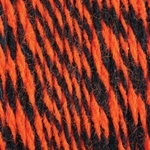 Bernat Super Value Team Colors Yarn - Orange & Black