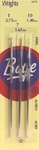 Boye Steel Crochet Hook Set-Size 1, 7 & 10