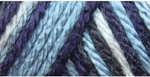 Caron Simply Soft Camo Yarn 4 oz - Blue Camo