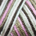 Caron Simply Soft Camo Yarn 4 oz - Pink Camo