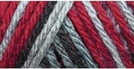 Caron Simply Soft Camo Yarn 4 oz - Red Camo