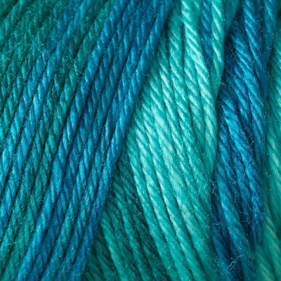 Caron Simply Soft Ombre Yarn 4 oz - Teal Zeal