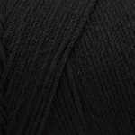 Caron Simply Soft Yarn 6 oz - Black