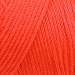 Caron Simply Soft Yarn 6 oz - Neon Coral