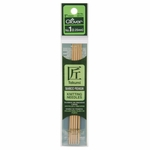"Clover Bamboo Double Point Knitting Needles 5"" 5/Pkg - Size 1 (2.25mm)"