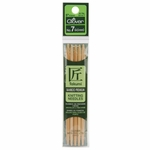 "Clover Bamboo Double Point Knitting Needles 5"" 5/Pkg - Size 7 (4.5mm )"