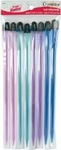 "Crystalites Acrylic Single Point 10"" Knitting Needle Assortment 1 - Susan Bates"
