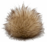 Fellbommel Small Faux Fur Pom Poms 4/Pkg