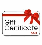 Gift Certificates-$50.00