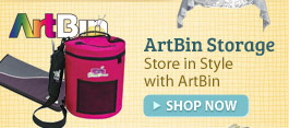 ArtBin Storage and Organizing